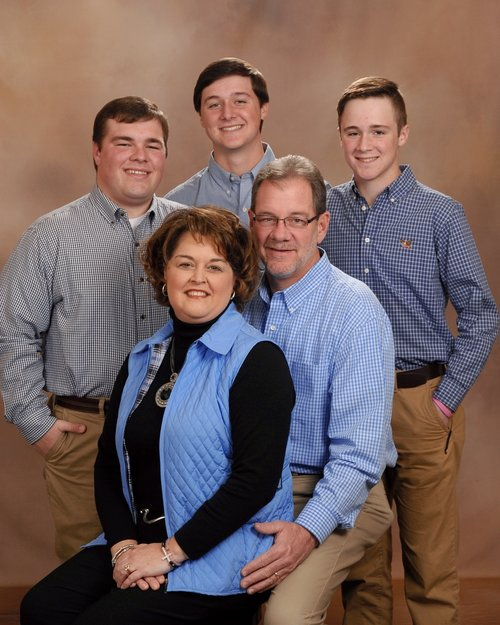 Jeff Howland and his family
